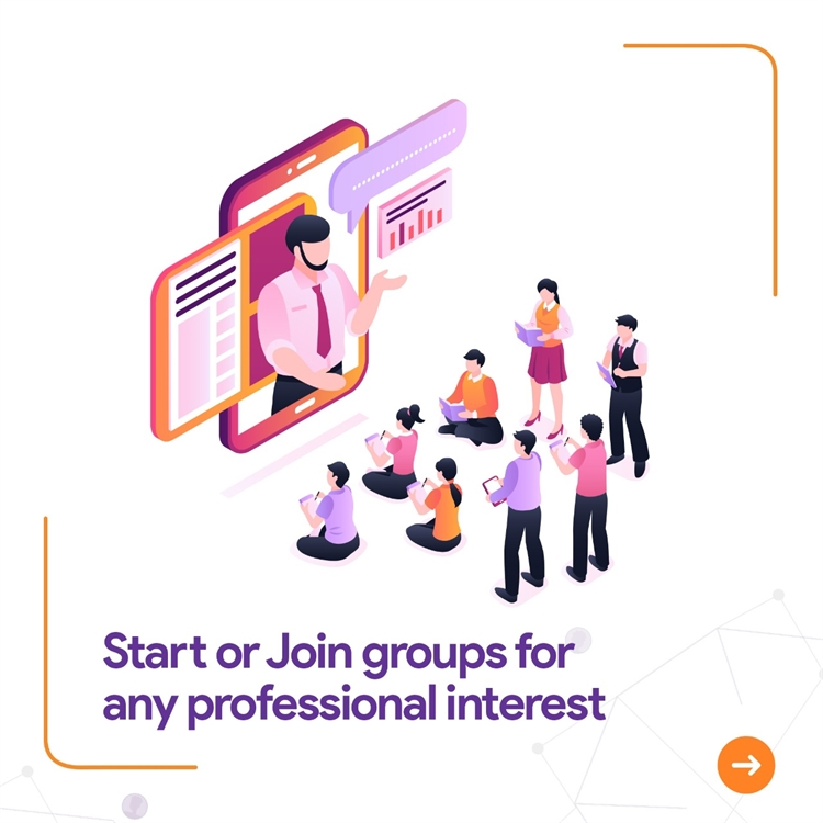 professional networking portal mobile - 7