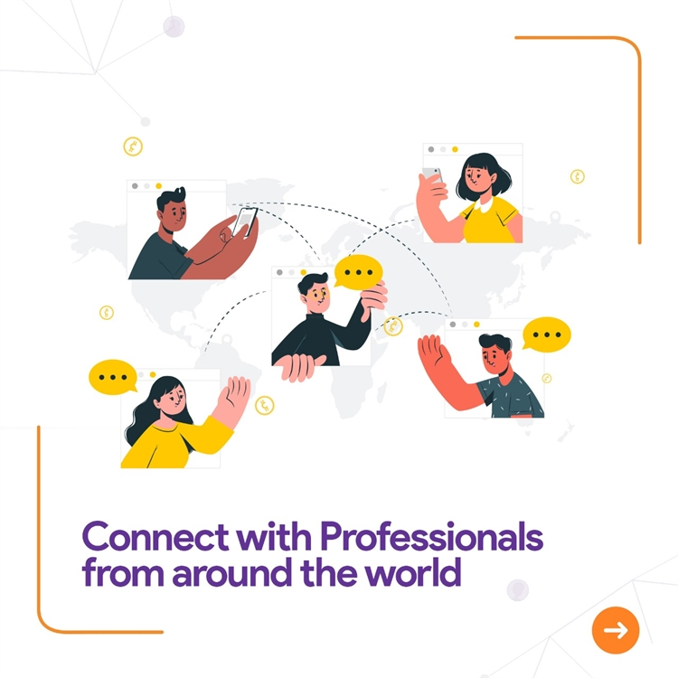 professional networking portal mobile - 5